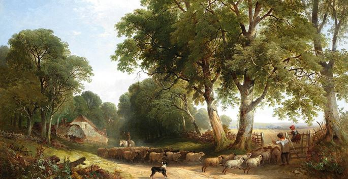 Henry John Boddington - Going to Pasture | MasterArt