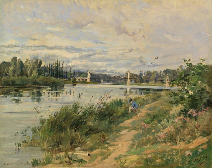 Fisherman on the Riverbank