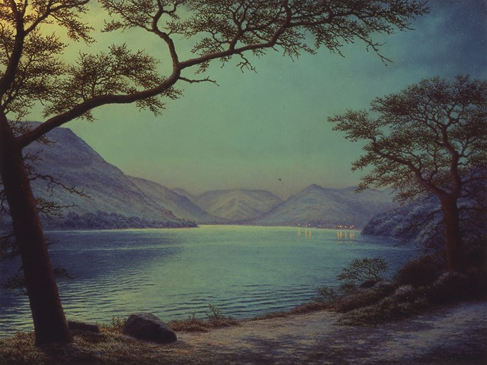 Nicholas Stephen Phillips - Moonlight Over Lake Ullswater | MasterArt