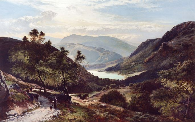 Sidney Richard Percy - Rydal Water | MasterArt