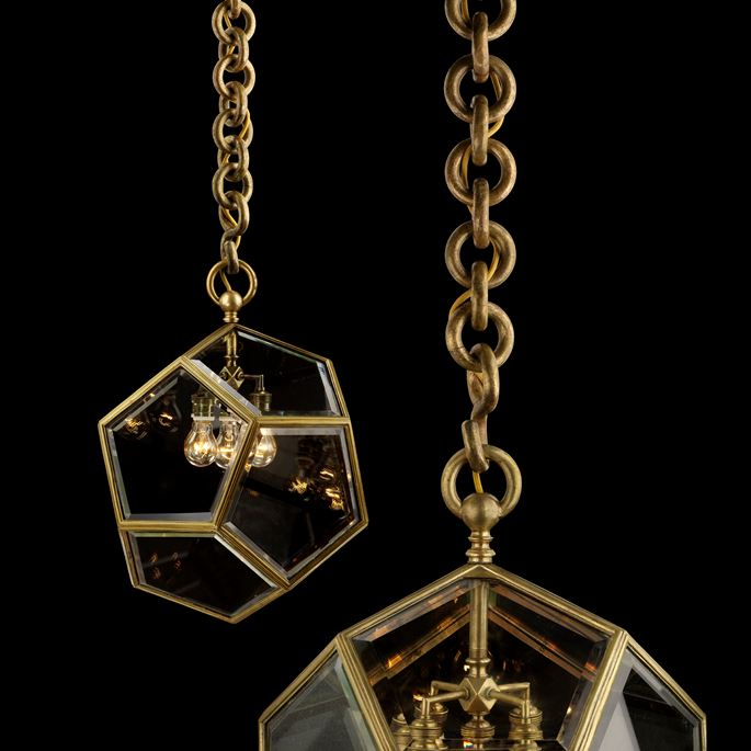 Adolf Loos - Pairs of hanging lamps | MasterArt