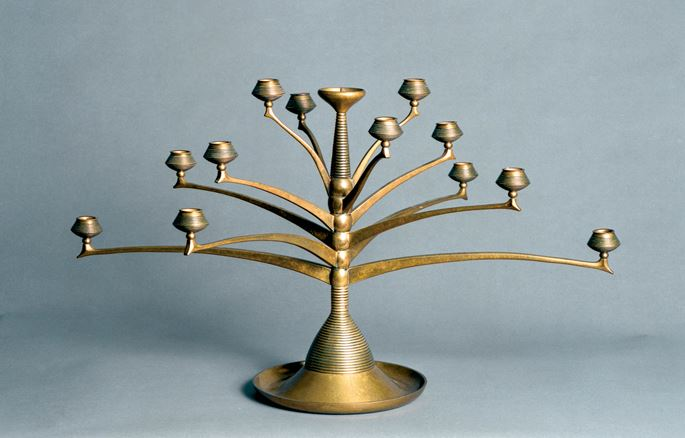 Bruno Paul - Thirteen light candelabra | MasterArt