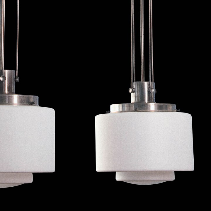 Set of 5 hanging lamps