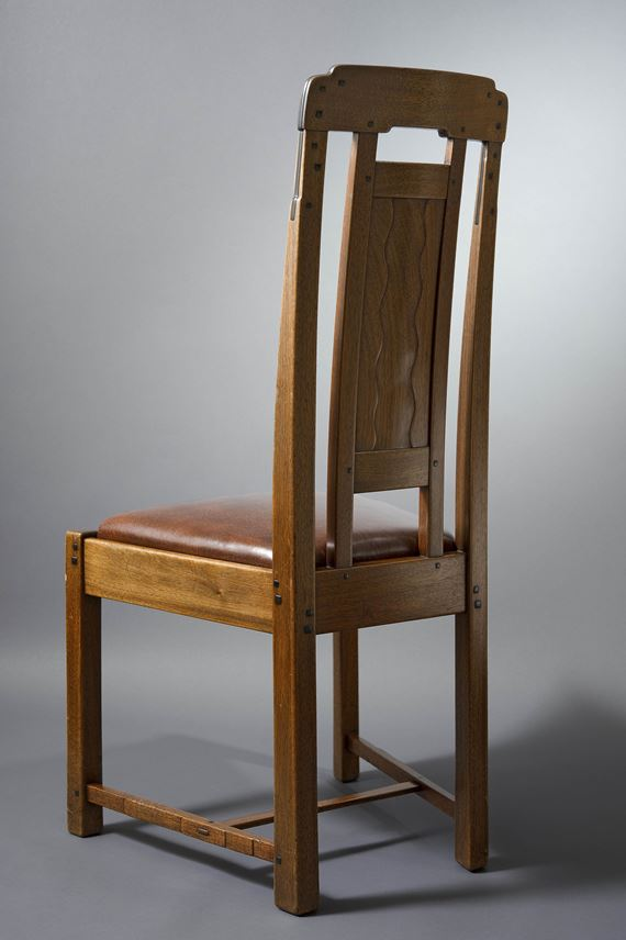 Greene and Greene - Pair of side chairs | MasterArt