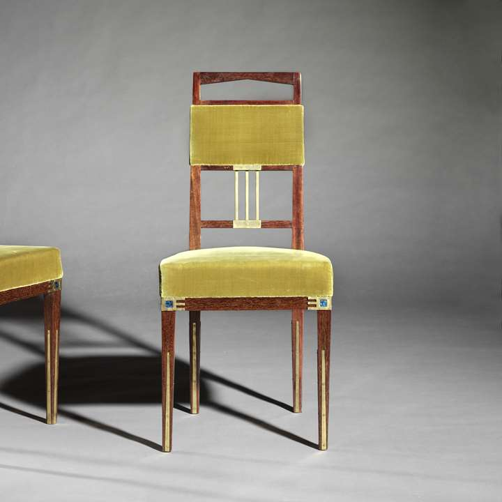 Pair of side chairs 'Saint-Saens'