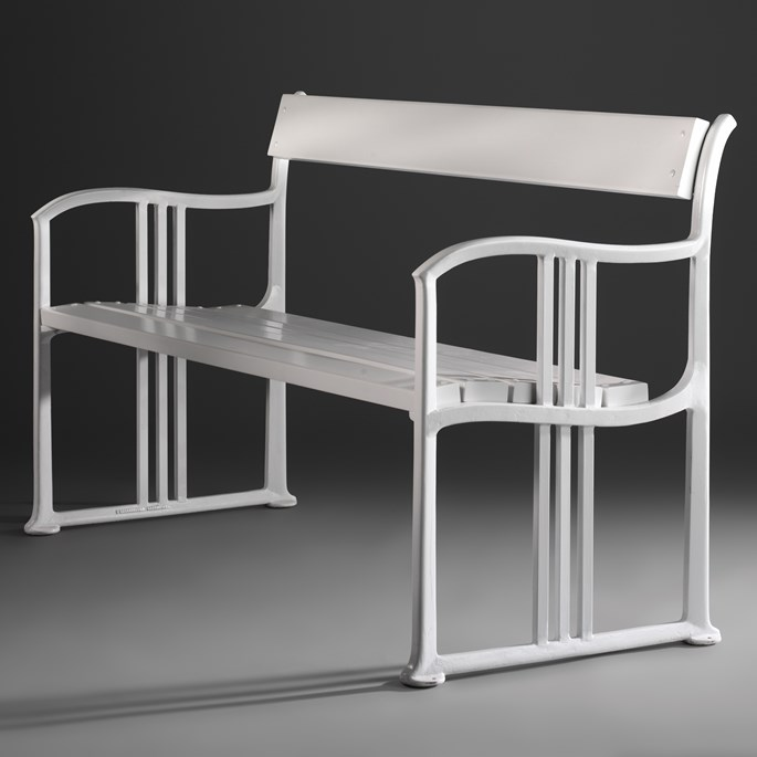 Josef  Hoffmann - Pair of benches | MasterArt