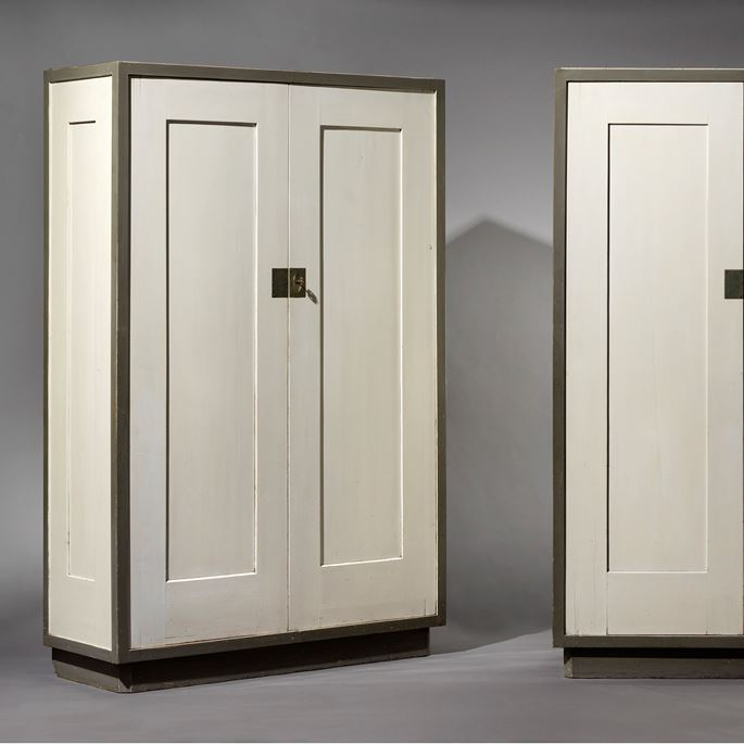 Josef  Hoffmann - Pair of cupboards | MasterArt