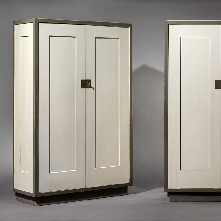Pair of cupboards