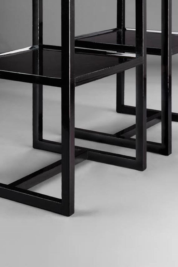 Josef  Hoffmann - Pair of side tables | MasterArt