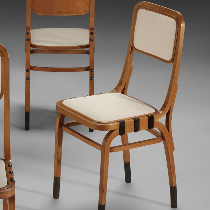 Marcel Kammerer - Set of 4 side chairs | MasterArt