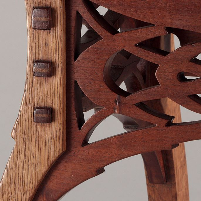 Paul Hankar - Stool | MasterArt